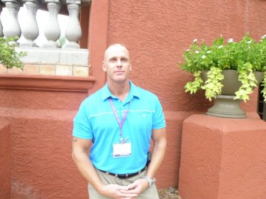 Doctoral learner Maj. Jackie Schiller II, in Phoenix this week to complete his second doctoral residency.