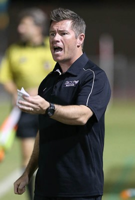 GCU women's soccer coach Stevie Gill