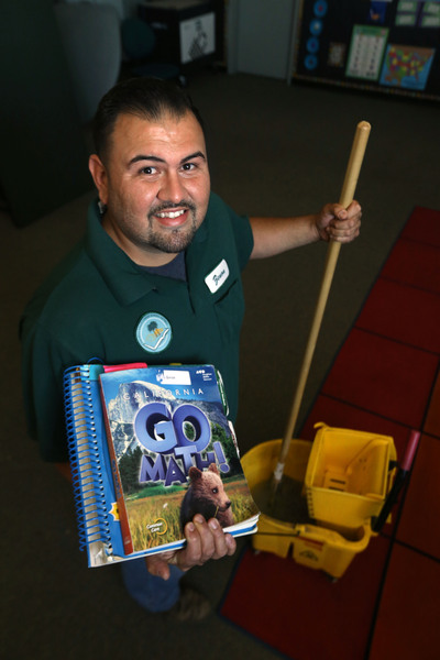Graduate Transitioning From Custodian To Teacher With