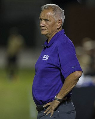"""Coach Schellas Hyndman said, """"I've coached many games in my career, but tonight was special."""""""
